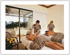 Spa treatment for couple, Lombok honeymoon package