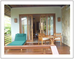 The Santosa villas and resort Senggigi Lombok island